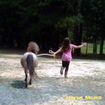 Renita Jones Cameron at horse moms photo of the week