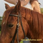 Sheri Brunet This is my daughter Zoe' and her horse Phoenix.