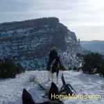 AmAsie Willison Trail ride in winter♥