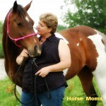 Angie Schulte - This is my horse Amy.