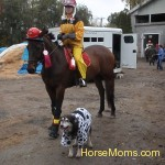 Ruckus aka Zim gets 1st place at the Southlands Hallowe'en playday.
