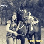 jen fry at horse moms photo of the week