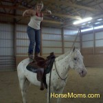 me and my 4yr old POA gelding Opie that I trained myself :