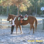 Priscilla Atkins Bryant at horse moms photo of the week