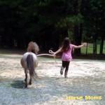 Renita Jones Cameron at horse moms photo of the week