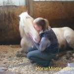 "Shannon Marie Molina This is my friend Kelly with her horse ""Hope"""