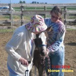 Tammi Dancer My filly Blanches Angel with me and my Grandma Blanche Henderson